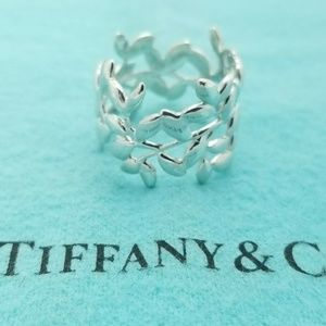 Tiffany & Co Silver Olive Ring